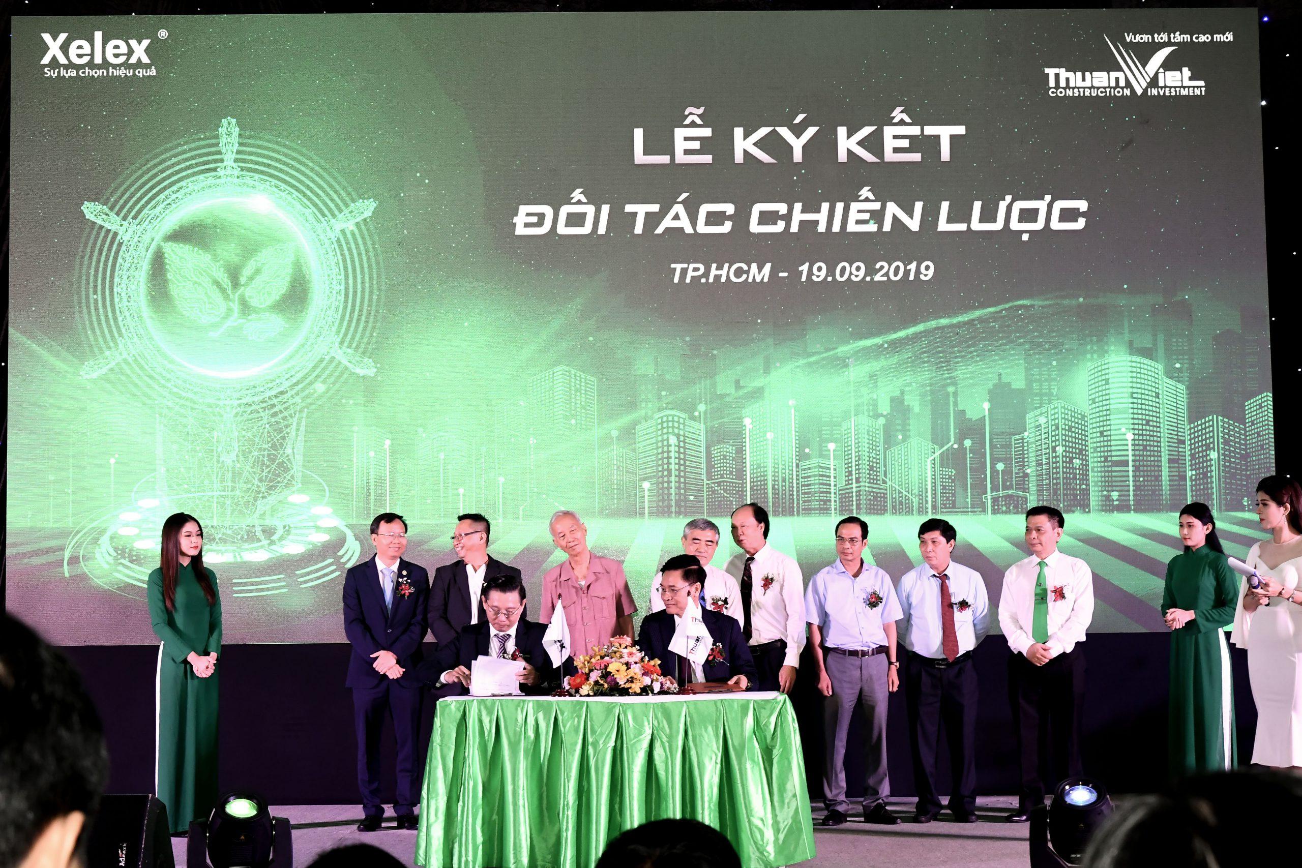Thuận Việt ký kết thỏa thuận hợp tác với Xelex